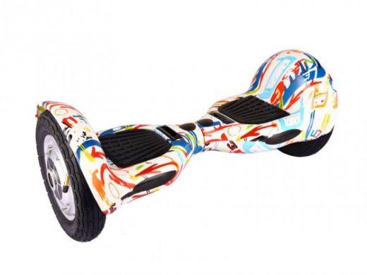 Гироскутер Smart Balance SUV 10 белый граффити